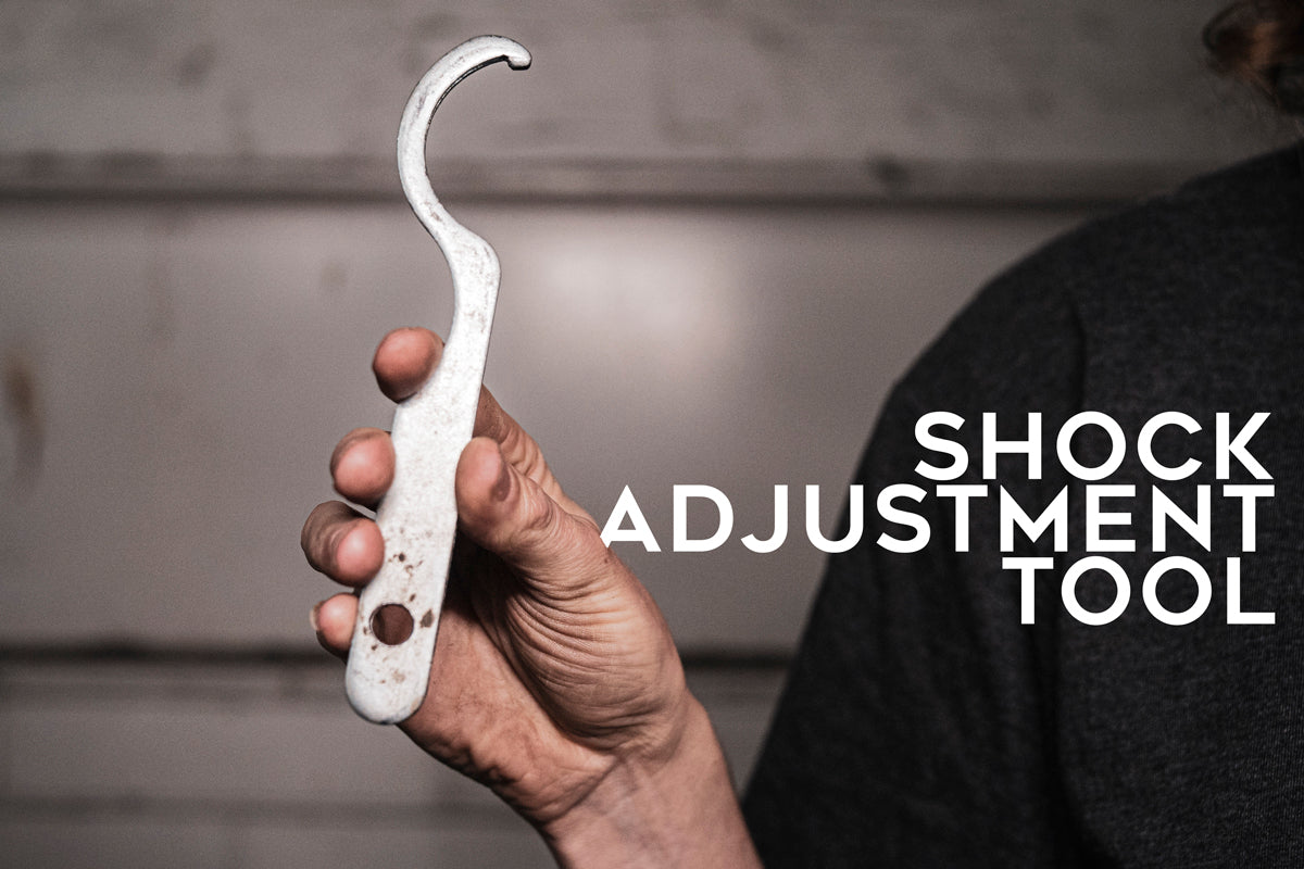 Shock adjustment tool for your motorcycle suspension