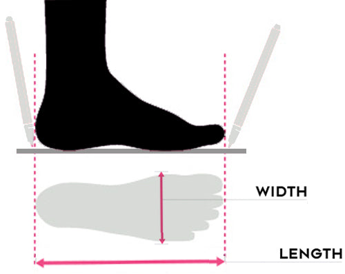 How to measure your feet - Moto Est