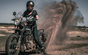 Tobacco kevlar motorcycle jeans for women | Moto Femmes