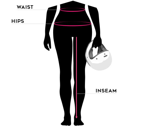 Womens motorcycle jeans size guide - Rev'it