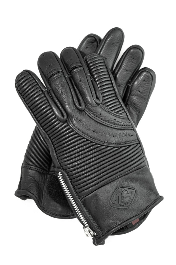 78 Motor Co. sakura glove midnight black online at Moto Est. Australia 4
