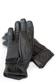 78 Motor Co.  Speed MkIII Nappa Black Leather Motorcycle Gloves Melbourne