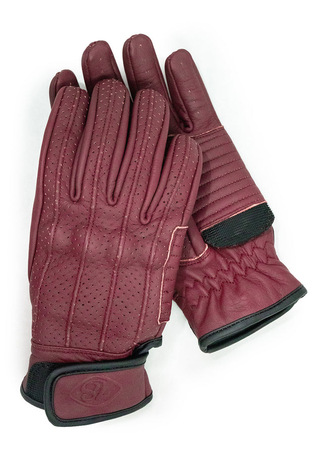 Speed B&B Leather Gloves