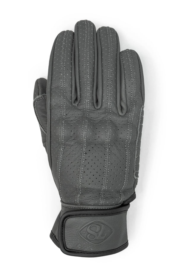 Speed MkIII Farina Grey Leather Gloves
