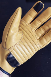 Sprint MkIII Dune Yellow Leather Gloves