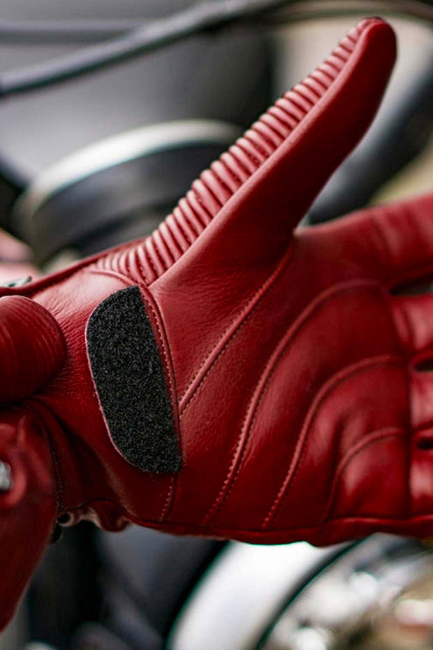 buy the 78 Motor Co. sakura gloves in cherry online at Moto Est. Australia