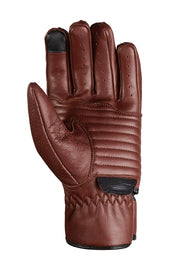 78 Motor Co. Speed MkIII Waxed Espresso motorcycle gloves