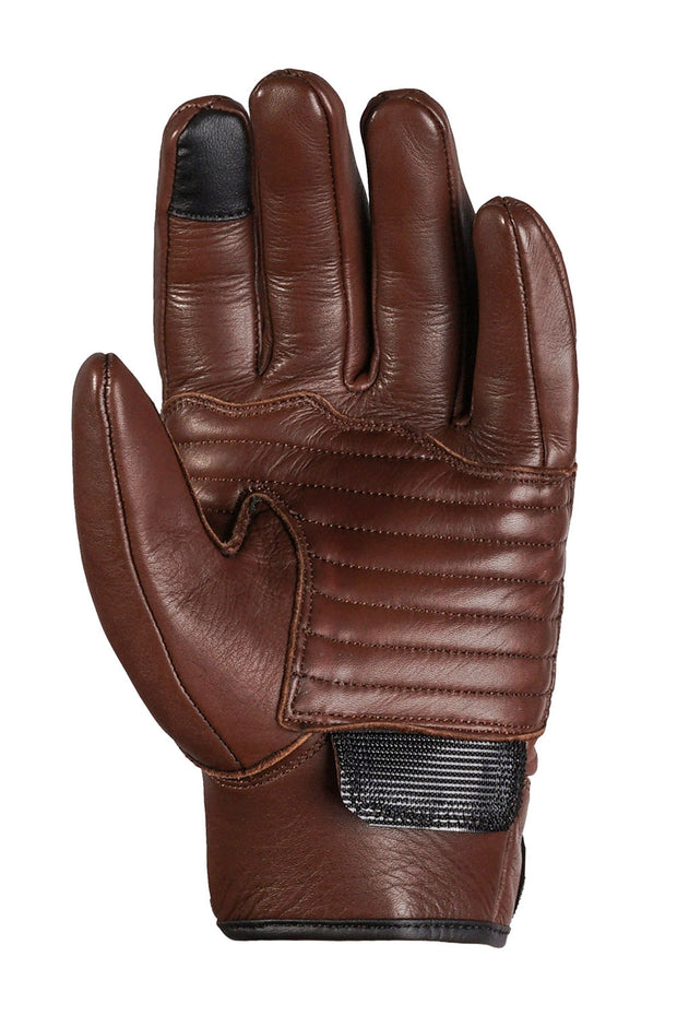 Sprint MkIII Waxed Espresso Leather Gloves with touch screen panels