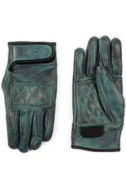 78 Motor Compancy Sirocco Leather Motorcycle Gloves | Emerald Green
