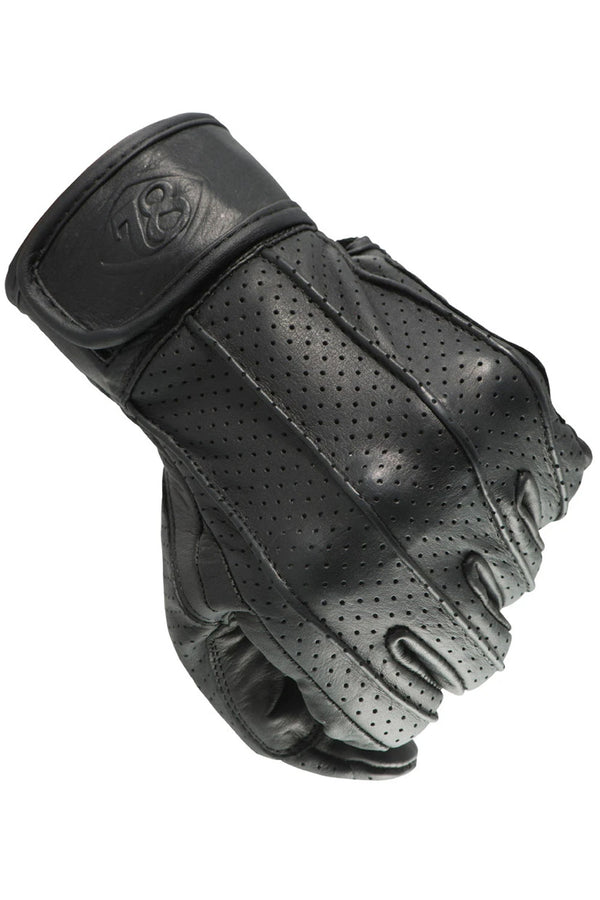 Speed Leather Motorcycle Gloves | Nappa Black