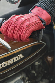 78 Motor Co. speed gloves signet red online at Moto Est. Australia 2