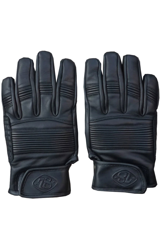 78 Motor Co. stingray gloves nappa black online at Moto Est. Australia