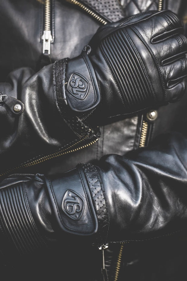 78 Motor Co. stingray gloves nappa black online at Moto Est. Australia 2