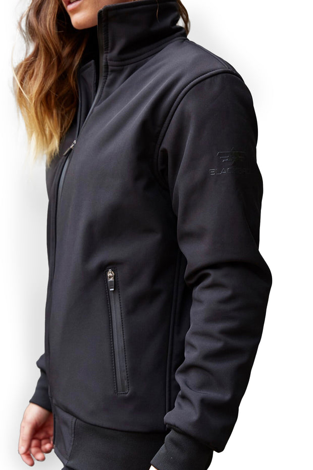 Buy the mondello windcheater jacket black online at Moto Est. Australia 3