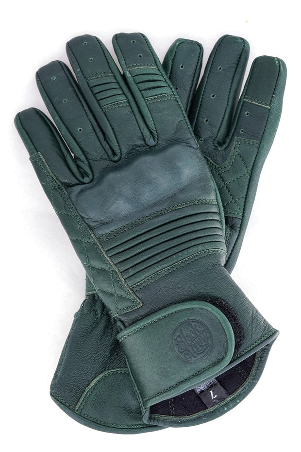 Buy the queen bee gloves forest green online at Moto Est. Australia 3