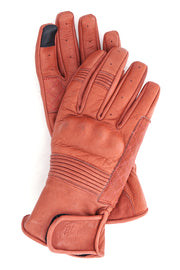 Buy the black arrow queen bee womens leather motorcycle gloves rust online at Moto Est. Australia 5