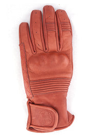 Black Arrow Label Queen Bee Women's Leather Motorcycle Gloves in Rust online at Moto Est. Australia