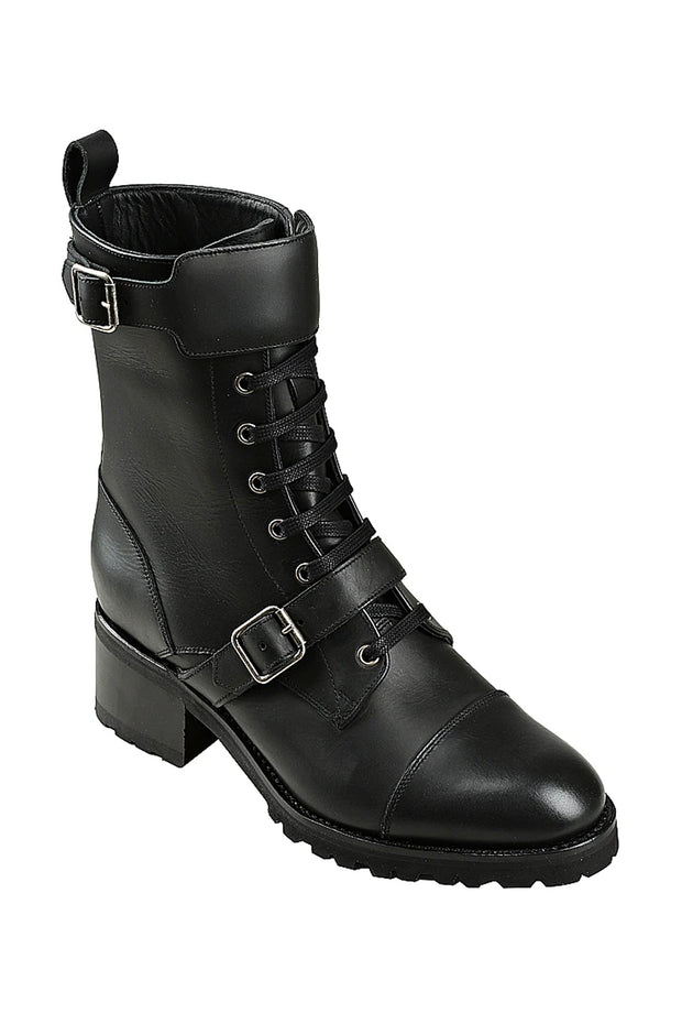 Black Arrow womens Motorcycle boots