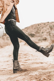Womens leather motorbike boots Melbourne, Australia