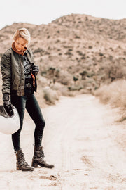 Womens leather motorcycle boots online Australia