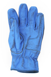 Buy the cafe quilted gloves blue online at Moto Est. Australia