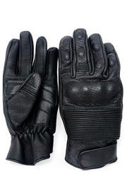 Blackbird Motorcycle Wear  Brixton Men's Leather Motorcycle Gloves