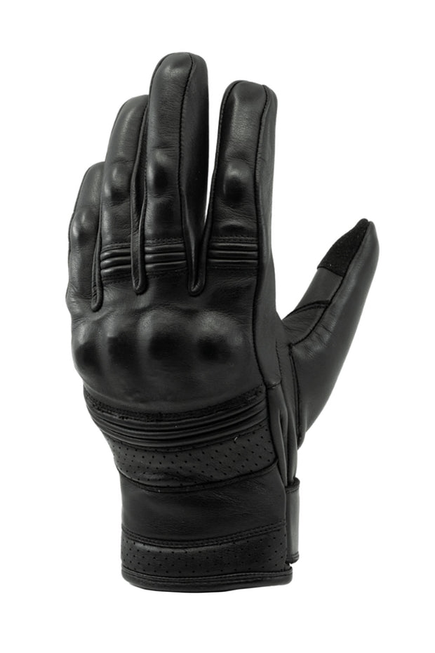 Blackbird Motorcycle Wear Boston leather motorcycle gloves online at Moto Est.