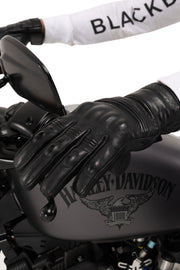 Blackbird Motorcycle Wear Boston leather motorcycle gloves