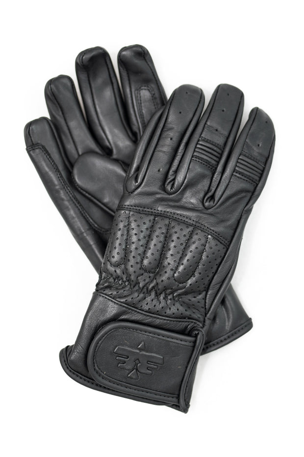 Buy the sunday ride gloves black online at Moto Est. Australia 3