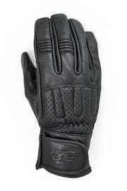 Blackbird Motorcycle Wear Sunday Ride Leather Motorcycle Gloves in Black online at Moto Est. Australia