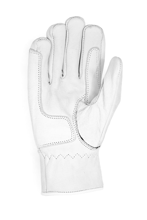 Buy the sunday ride gloves white online at Moto Est. Australia 3