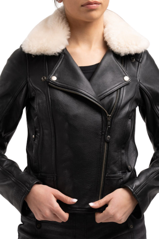 Blackbird Motorcycle Wear  Fly By Night Women's Leather Motorcycle Jacket