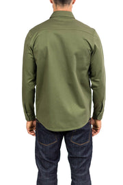 Clutch Moto Recon Military Green - Long Sleeve Riding Shirt Moto Est Australia online