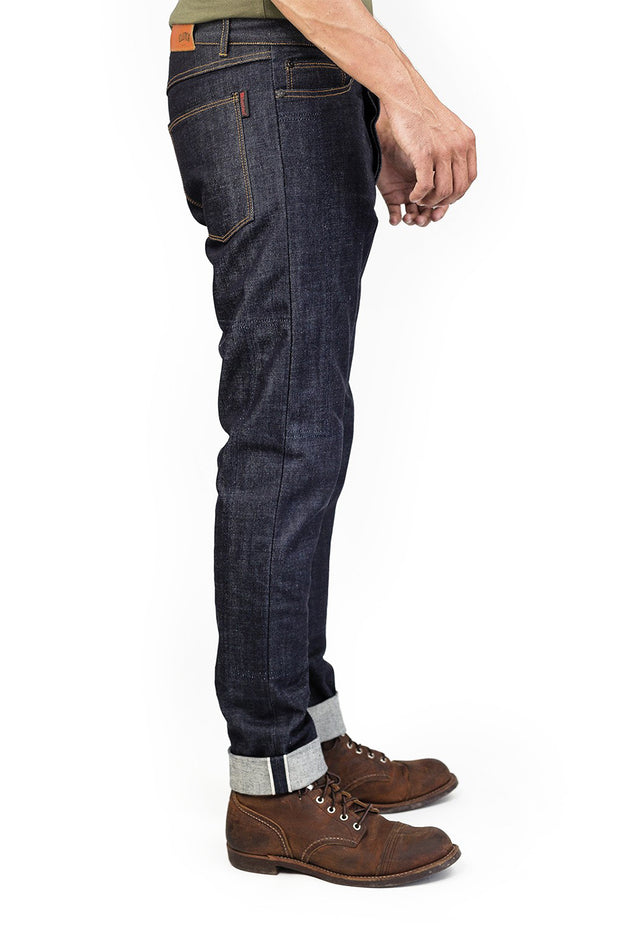 Clutch Moto Selvedge Motorcycle Jeans in Indigo online at Moto Est. Australia 3