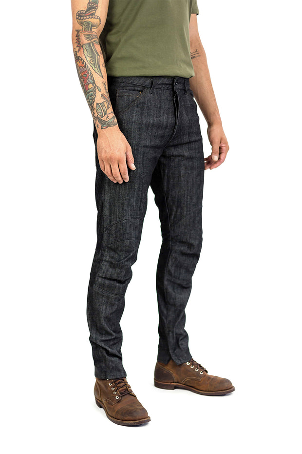 Clutch Moto Tech 110 Motorcycle Jeans in Black online at Moto Est. Australia 2