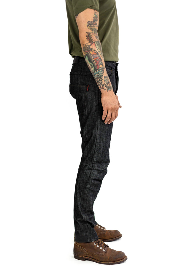 Clutch Moto Tech 110 Motorcycle Jeans in Black online at Moto Est. Australia 3