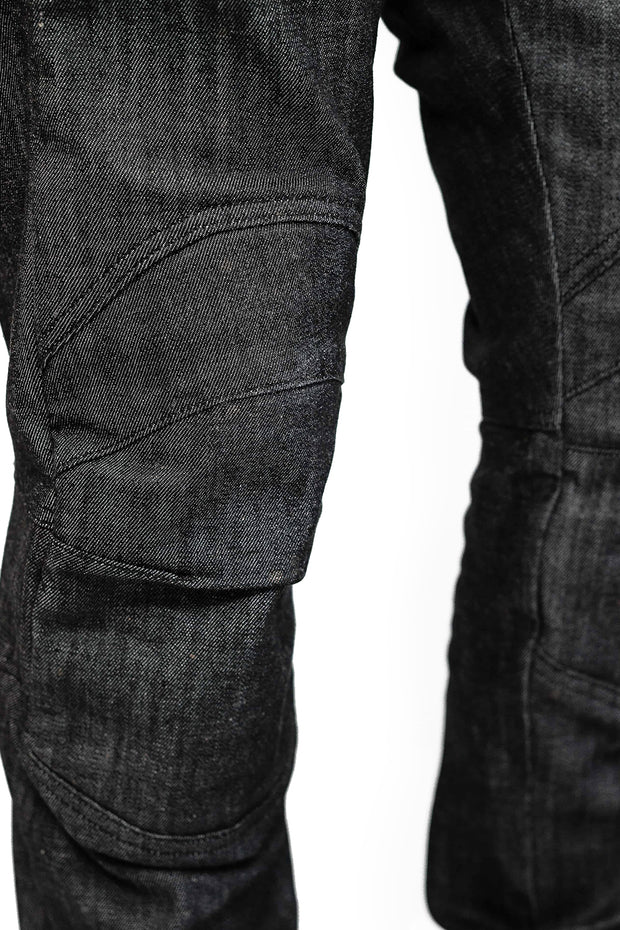 Clutch Moto Tech 110 Motorcycle Jeans in Black online at Moto Est. Australia 6