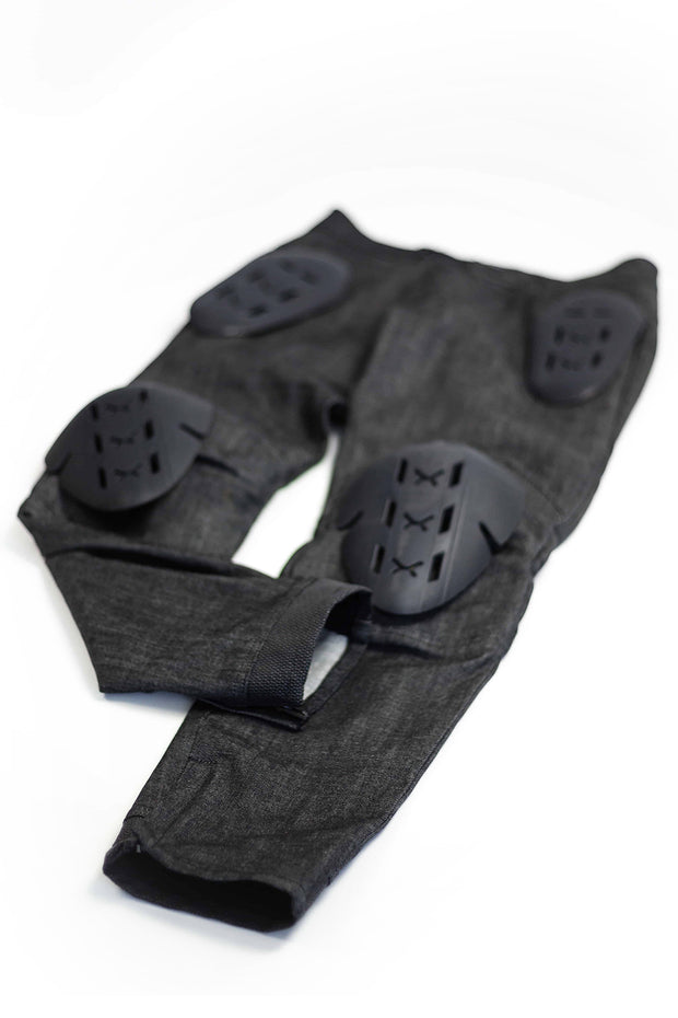 Clutch Moto Tech 110 Motorcycle Jeans in Black online at Moto Est. Australia 8