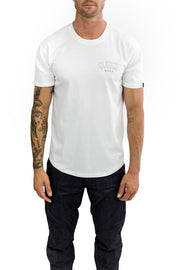 Buy the clutch moto club tee white online at Moto Est. Australia