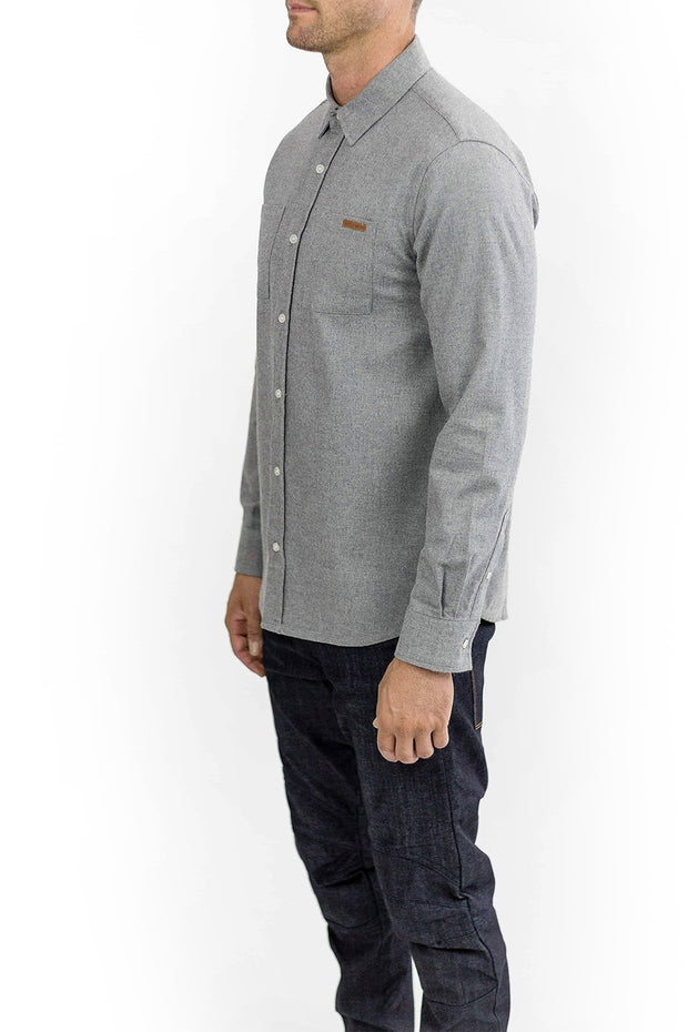 Buy the ridgemont long sleeve riding shirt grey online at Moto Est. Australia 3