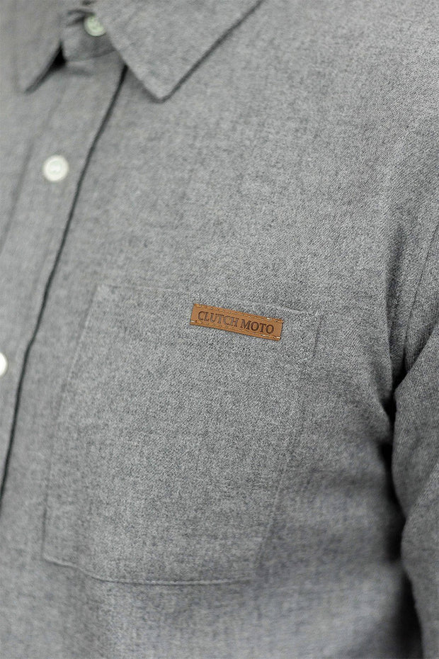 Buy the ridgemont long sleeve riding shirt grey online at Moto Est. Australia 5