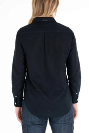 Clutch Moto  Skyline Black Long Sleeve Shirt