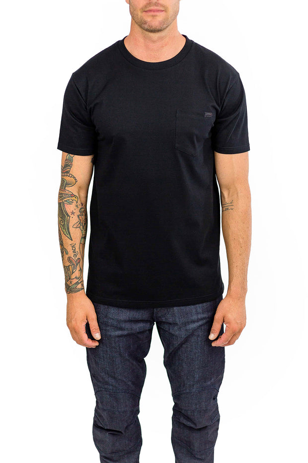 Clutch Moto Cuban Tee in Black online at Moto Est. Australia