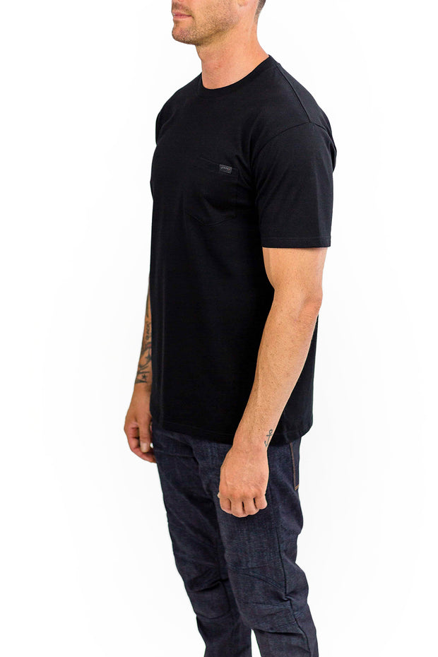 Buy the clutch moto cuban tee black online at Moto Est. Australia 3