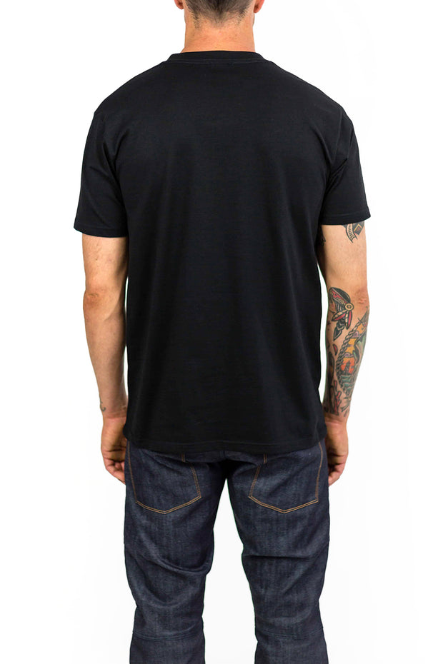 Buy the clutch moto cuban tee black online at Moto Est. Australia