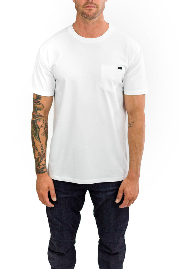 Clutch Moto Cuban Tee in White online at Moto Est. Australia
