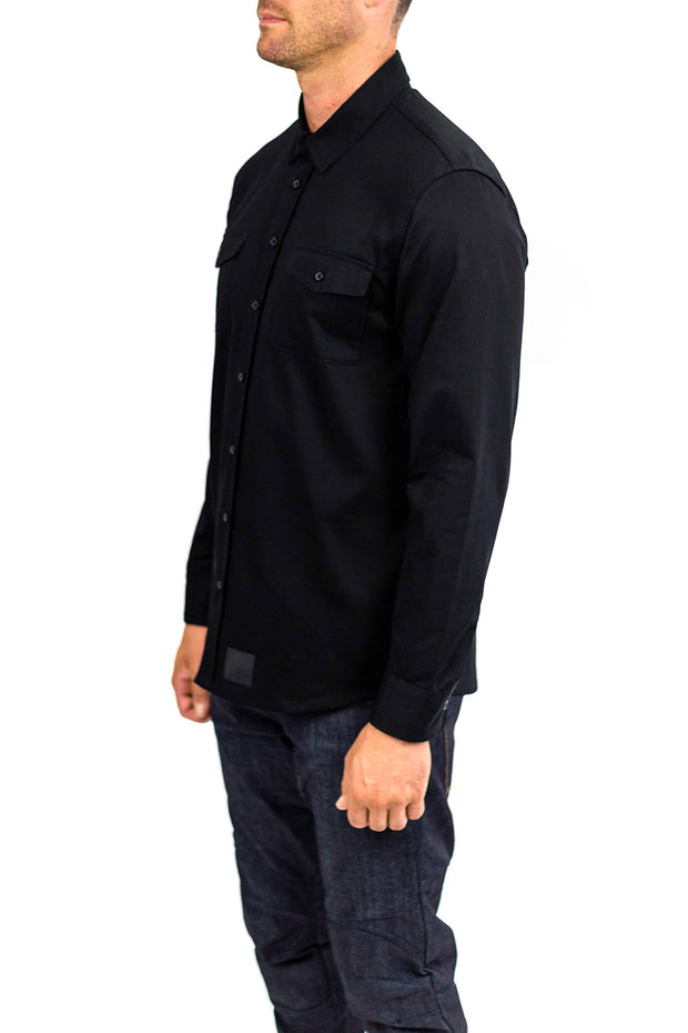 Clutch Moto Recon Long Sleeve Riding Shirt | Black online Moto Est. 1