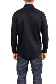 Clutch Moto Recon Long Sleeve Riding Shirt Black online Moto Est. - back