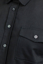 Clutch Moto Recon Long Sleeve Riding Shirt | Black online Moto Est. - buttons