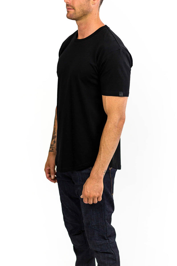 Buy the clutch moto rider tee black online at Moto Est. Australia 3